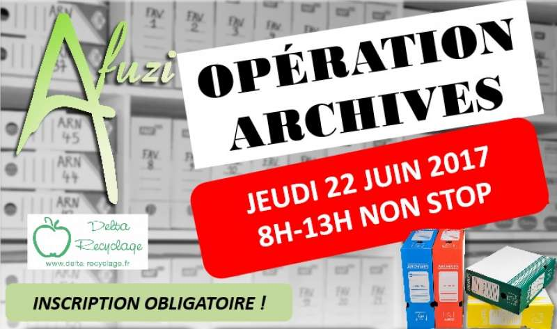 OPERATION COLLECTE ARCHIVES - 22 JUIN 2017